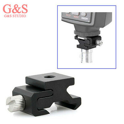 """Hot Shoe Flash Stand Adapter with 1/4"""" Tripod screw k-3509"""