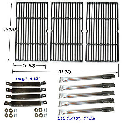 Charbroil Commercial 463268806 Replacement Burners,Carryover Tubes,Grill Grates