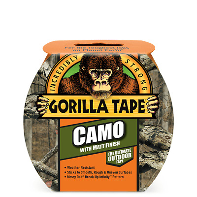 Gorilla Tape - Camo Duct Tape Extra Strong Patterned