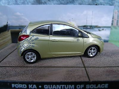 Ford Ka James Bond Quantum Of Solace  Series Diorama