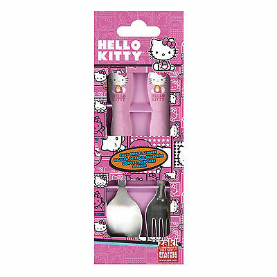 Hello Kitty- Spoon And Fork Set