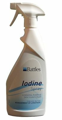 Battles Iodine Spray - Animal/Horse Care