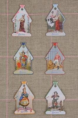 Sajou Domfront Labels French Cross Stitch Floss Thread Cards Cartes A Fils
