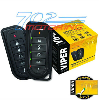 Viper 5204 Security Alarm & Remote Start  2-Way System And Keyless Entry 5204V