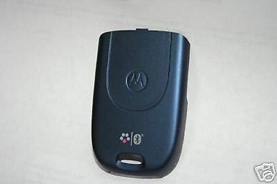 Lot Of 2 New Battery Door Back Cover Oem Motorola V195 Blue