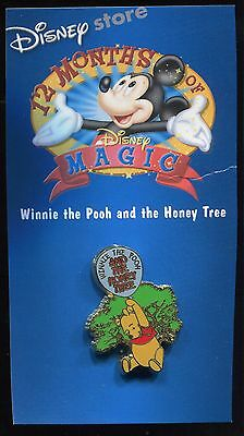 12 Months of Magic Winnie the Pooh and the Honey Tree Disney Pin 10340