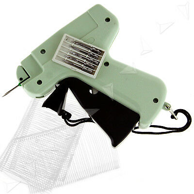 Garment Price Label Tag Tagging Gun Free 5 Needles and 1000 barbs