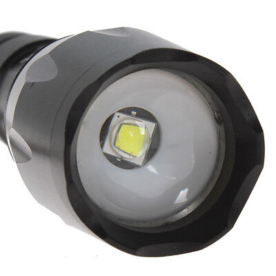 SecurityIng 1600LM CREE XM-L2 LED Adjustable Focus 5 Modes Flashlight Torch
