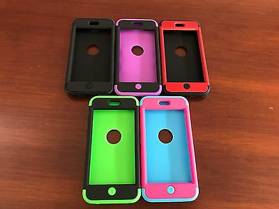Heavy Duty Cover for Apple Ipod Touch 5/6th gen Protective Tradie Case