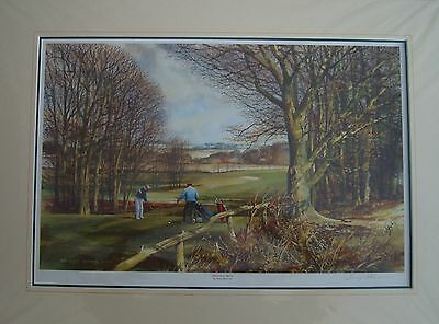 """Terry Harrison """" THE LONG DRIVE """" Open Edition Print"""