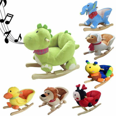 Baby Kids Animal Rocker Children Toys Rocking Infant Toddler Gift for Boy Girl