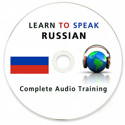 Learn To Speak Russian- Complete Language Training Course on MP3 DVD