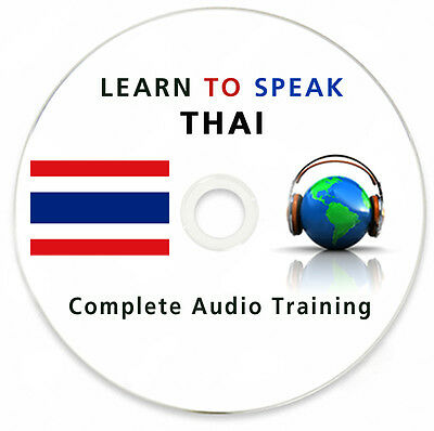 Learn To Speak Thai - Complete Language Training Course on MP3 DVD & Ebooks
