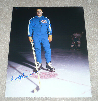 MONTREAL CANADIENS SCOTTY BOWMAN HAND SIGNED AUTHENTIC 11X14 PHOTO w/COA
