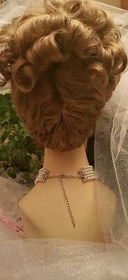 Victorian / Edwardian style wig color choice Sevina Halloween sass masquerade