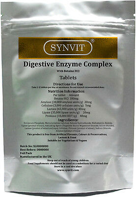 SYNVIT® Digestive Enzyme Complex with Betaine HCI
