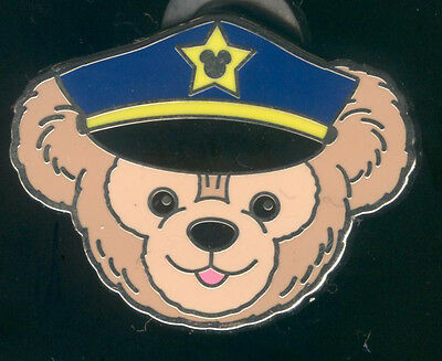 WDW 2012 Hidden Mickey Duffy's Hats Police Officer Disney Pin 91237