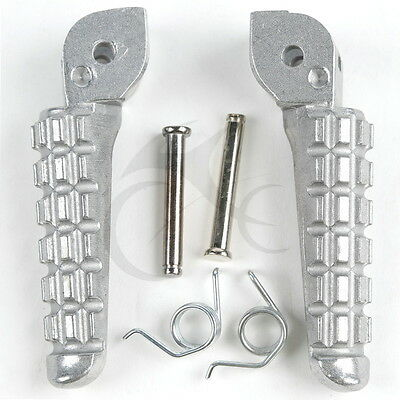 Front Footrest Foot Pegs For Ducati Monster 696 796 2009-2014 2010 2011 2012