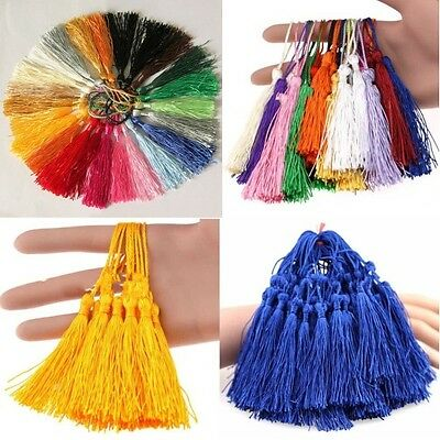 Wholesale Tassel Pendants Polyester Trim Mixed Craft Applique Jewelry Making DIY