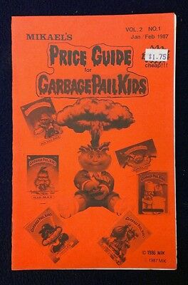 Mikael's Garbage Pail Kids Price Guide! Volume #2 Issue #1!!!