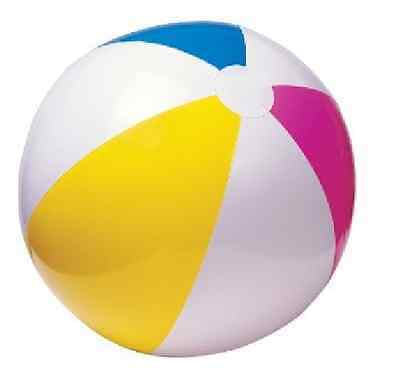 """24"""" GLOSSY INFLATABLE BEACH BALL 60cm SEA SWIMMING POOL SUMMER HOLIDAY PARTY"""