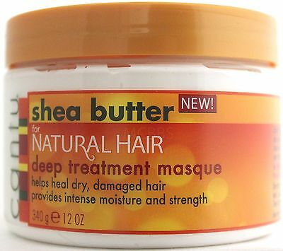 Cantu Shea Butter For Natural Hair Deep Treatment Masque Dry Damaged 12 Oz.