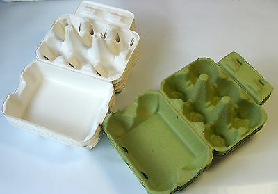 10 Egg Cartons Gift Box - 6 Holding Type Egg Carton Square
