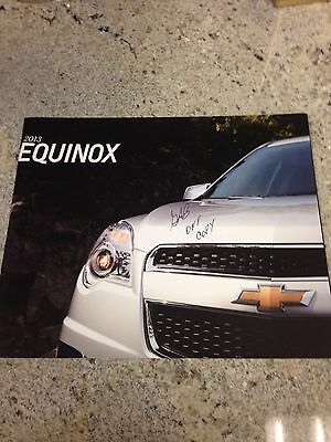 2013 Chevy Equinox 34-page Original Sales Brochure