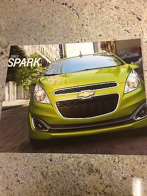 2013 Chevy Spark 26-page Original Sales Brochure
