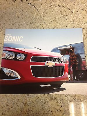 2013 Chevy Sonic 32-page Original Sales Brochure