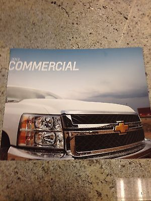 2013 Chevy Commercial 28-page Original Sales Brochure