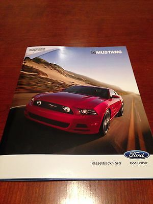 2014 Ford Mustang 44-page Original Sales Brochure