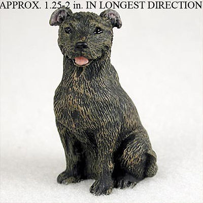Staffordshire Bull Terrier Mini Dog Figurines