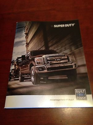 2014 Ford Super Duty 44-page Original Sales Brochure