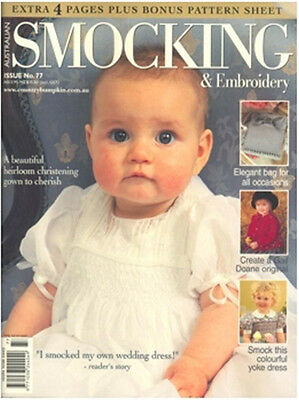 Australian Smocking & Embroidery Magazine Issue #77 Sewing Inc Patterns