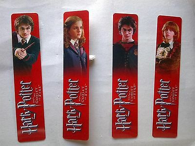 Limited Edition Harry Potter and the Goblet of Fire Bookmark (Ron /Hermione)