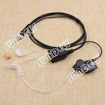 Headset Earpiece for Uniden Atlantis 250G Marine Boat Radio Grey Atlantis250-BK