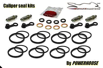 Suzuki RG 250 Gamma front brake caliper seal rebuild repair kit 1985 1986