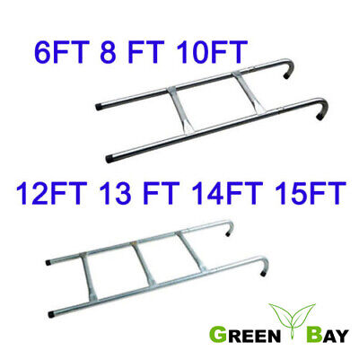 Garden Trampoline ladder 2 3 Step Safe Universal fit 6 8 10 12 13 14 15 ft
