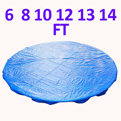 6 8 10 12 13 14 FT Trampoline Universal Rain Dust Cover Weather Protective Guard