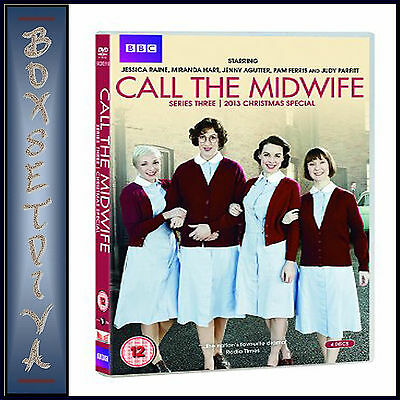 Call The Midwife - Complete Series 3 & 2013 Xmas Special ***brand New Dvd ****
