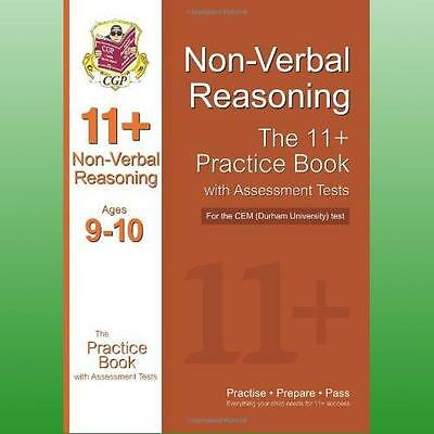 11 Nonverbal Reasoning Practice Book with Assessment Tests Age 910 for the CEM T