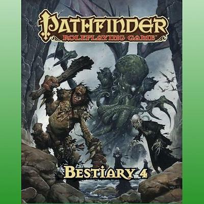 Pathfinder Roleplaying Game Bestiary 4 by Bulmahn Jason