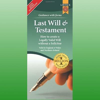Last Will  Testament Form Pack by Rajah Eason QC