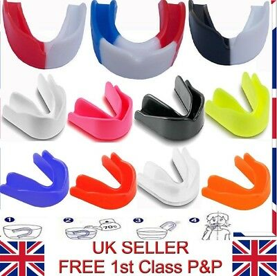 Adults & Junior MultiColor High Quality Lightly Flavoured Gum Shield Mouth Guard