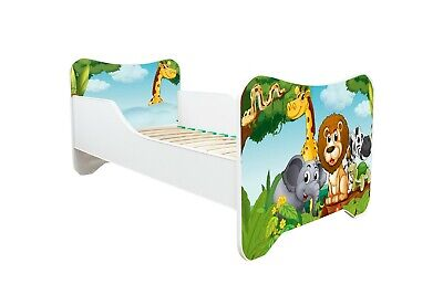 Childrens Bed Toddler Kids With Mattress !!! Extra 20% Off