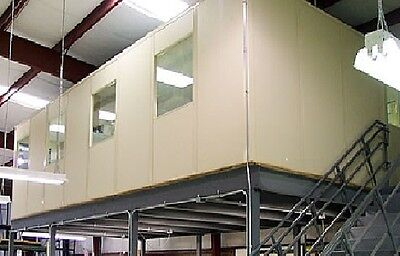Brand New Orginial Packaging 12'x16'x8' Modular Office (No Mezzanine Included)