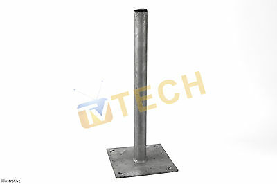 Free Standing Satellite Mounting Bracket 50mm x 60cm