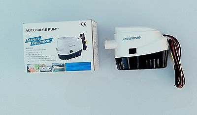 Basement Flood Water Pump Automatic Switch On Huge  Pump Rate 600 Gal/hour