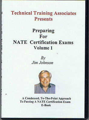 PREPARING FOR NATE CERTIFICATION EXAMS  (E-BOOK) on CD